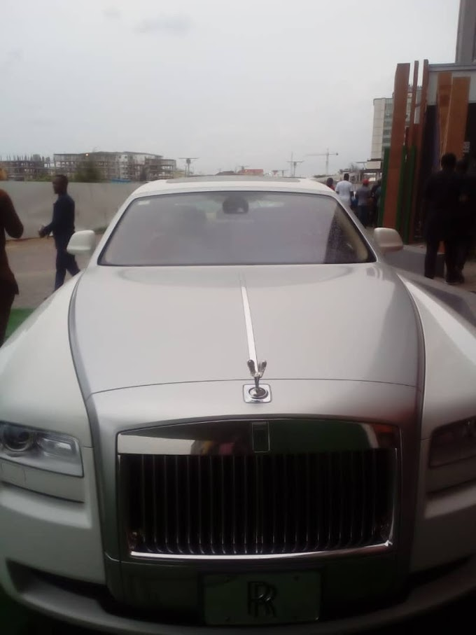 PHOTOS: ANYIEGO UNVEILED 2018 ROLLS-ROYCE AT BIRTHDAY BASH