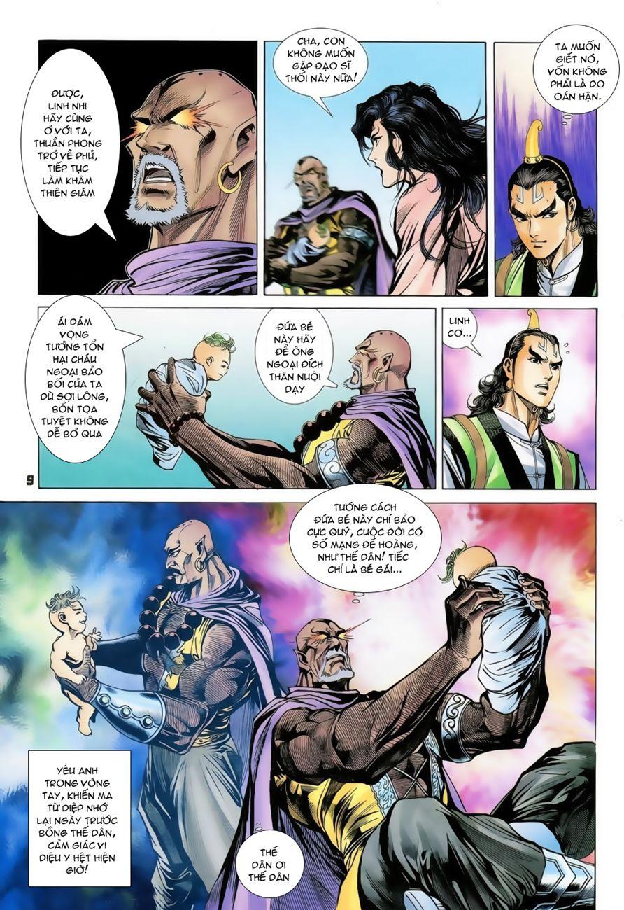Đại Đường Uy Long chapter 73 trang 9