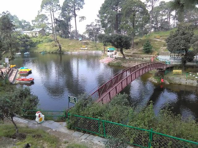Bhulla lake , Bhulla Tal , Lansdowne , Hill station.