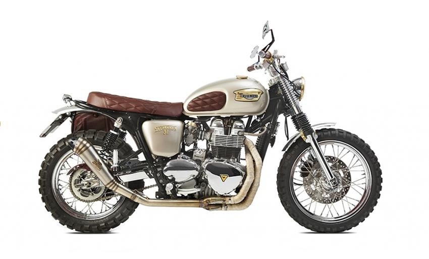 Triumph Bonneville T100 | D.Franklin 32 | Tamarit Motorcycles