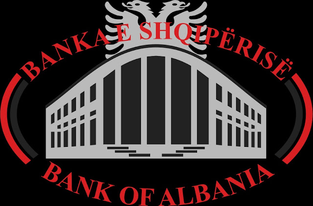 Banl of Albania logo