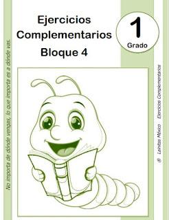 1er grado primaria - material educativo - bloque 4