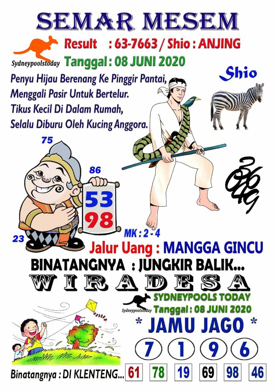 Naga mas sydney 8 juni 2021 keraton