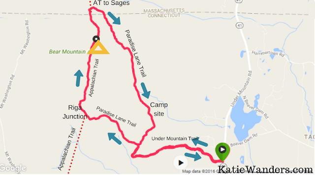 Katie Wanders : Bear Mountain, Salisbury - Hiking Connecticut\'s ...