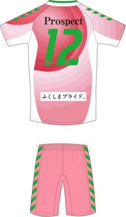 福島ユナイテッドFC 2018 ユニフォーム-「ふくしまの桃」PR