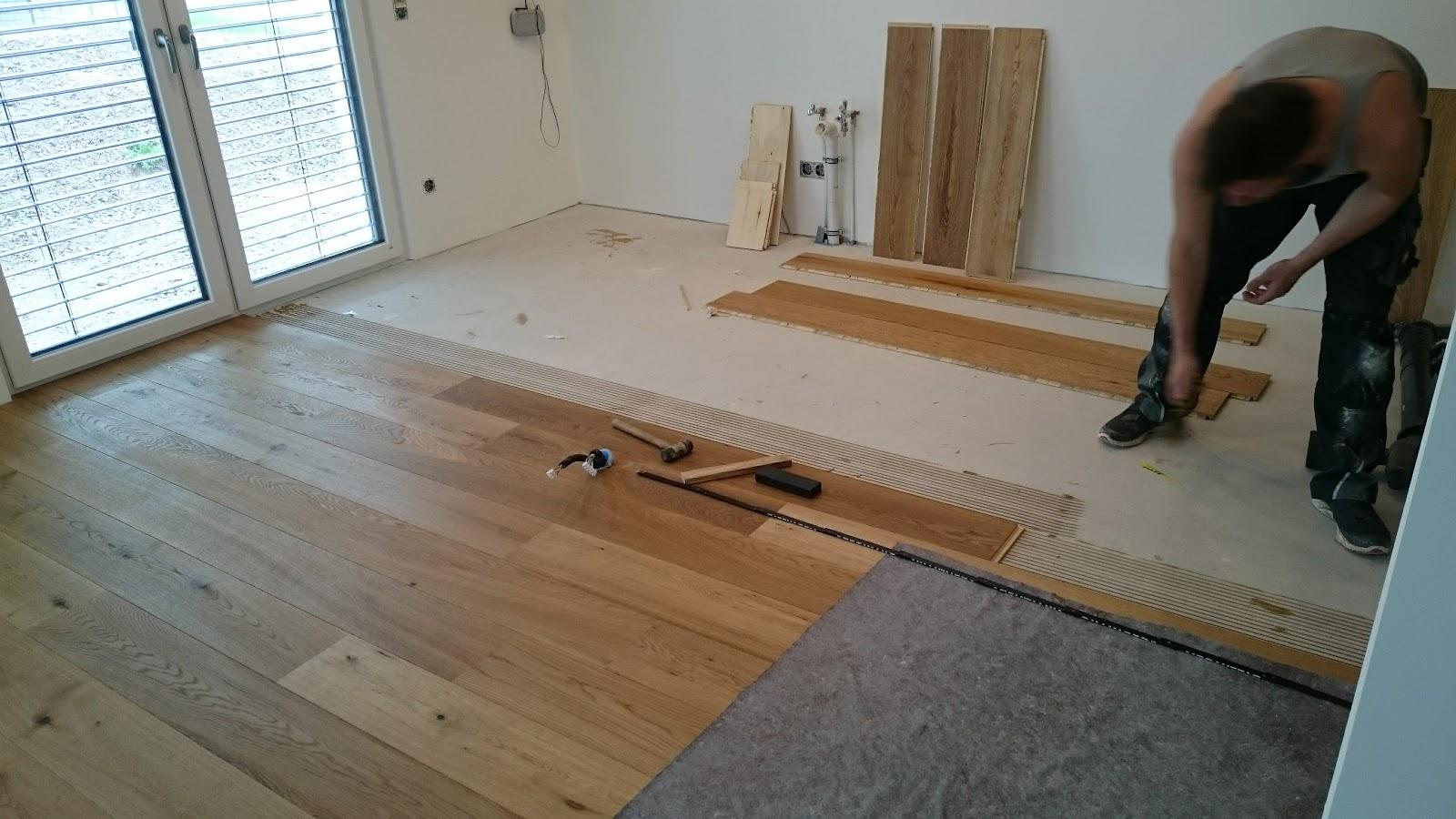 Holz Auf Holz: Parkett Fertig, Jetzt Kommt Der Kork