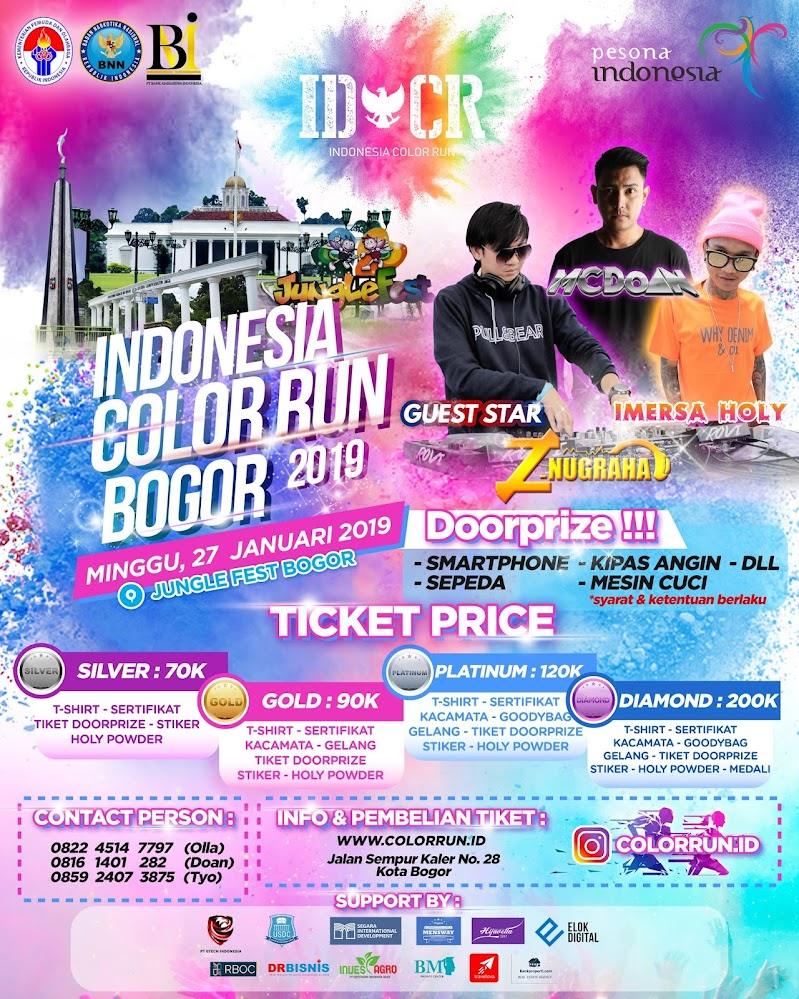 Indonesia Color Run - Chapter Bogor • 2019
