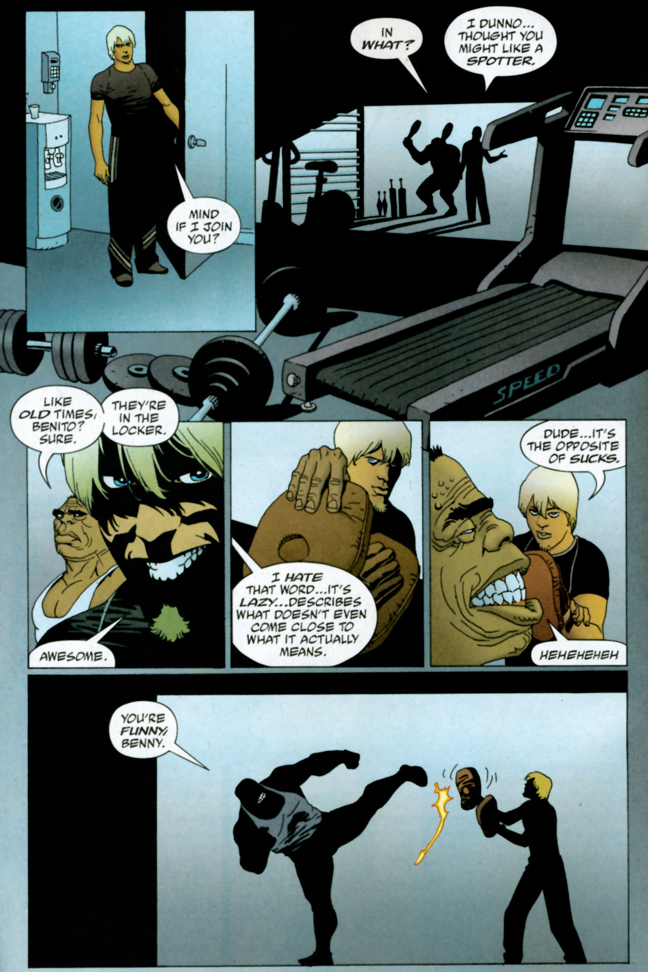 Read online 100 Bullets comic -  Issue #85 - 3