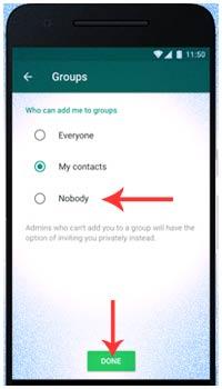 Cara Mencegah Pengguna Lain Menambahkan Anda Ke Grup WhatsApp
