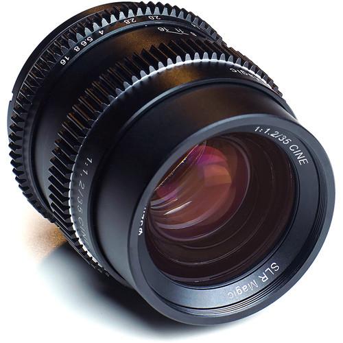 SLR Magic Cine 35mm f/1.2 FE