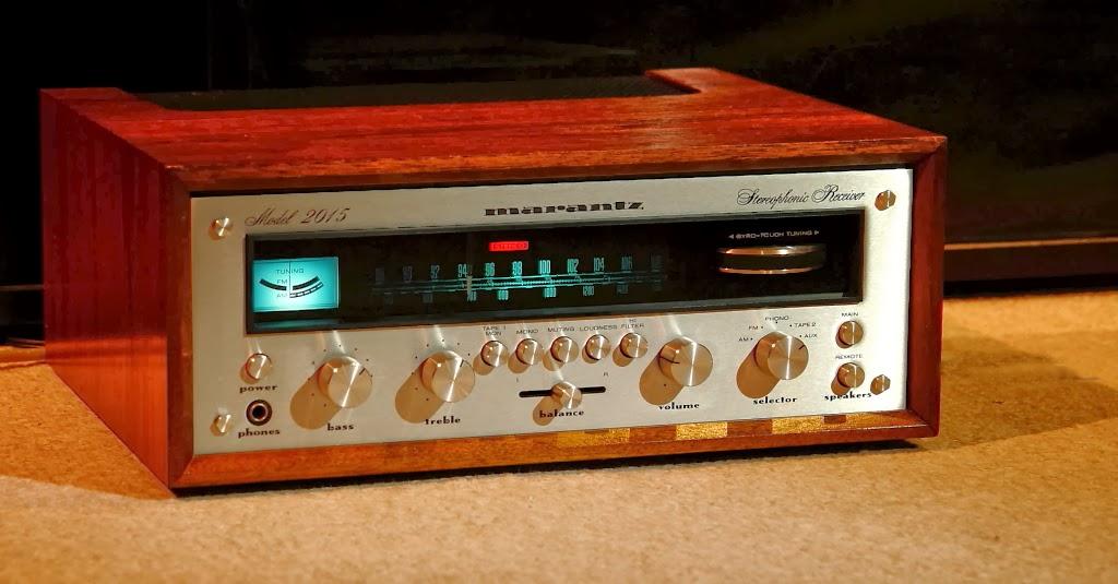 golden age of audio marantz model 2015 stereo receiver