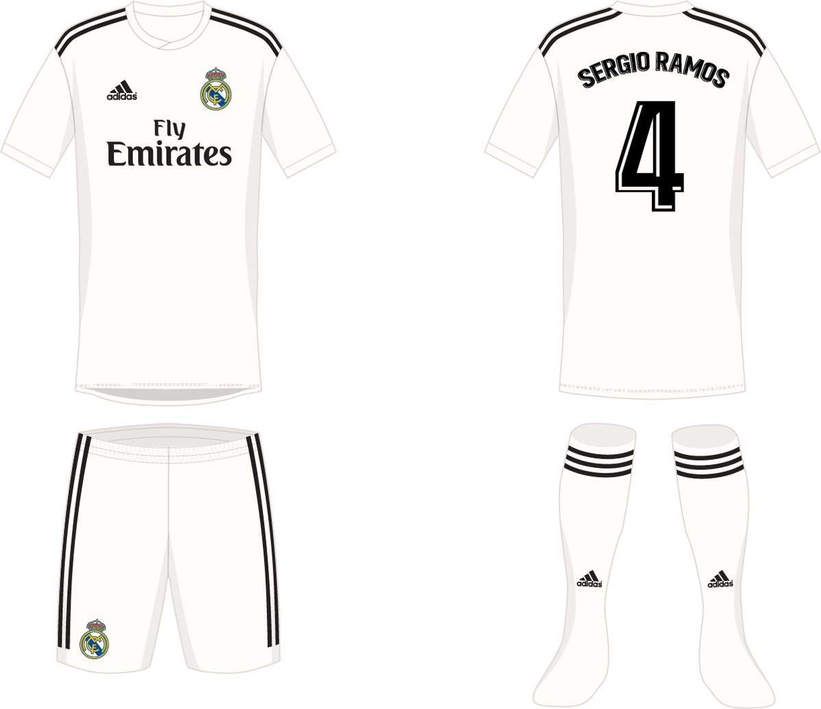 Real Madrid 18-19 home kit prediction by  hendocfc (without graphic print) b67ee511c