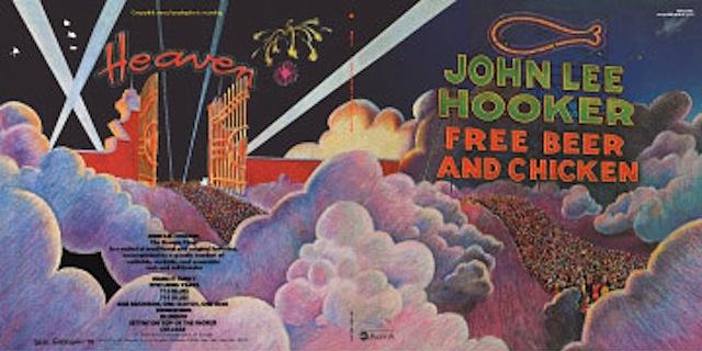 Van Groove Express John Lee Hooker Free Beer And