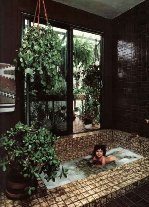 Houseplants In The Bathroom Add That Bohemian Feel