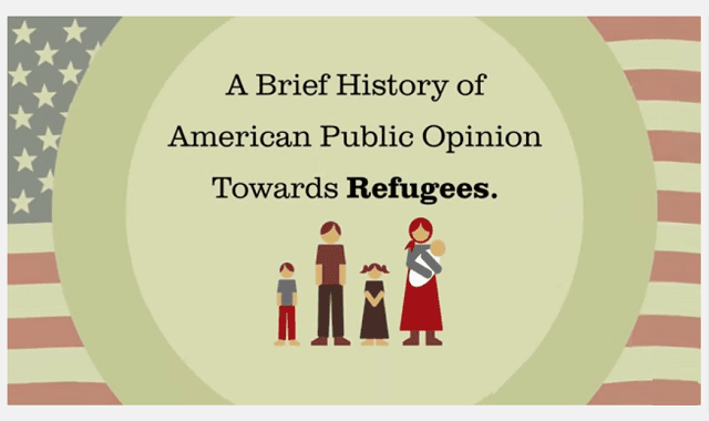 American Public Opinion Towards Refugees