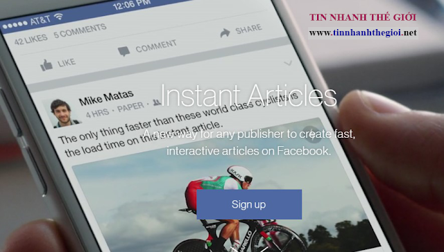 Register Instant Articles Facebook - Now Open to All Publishers