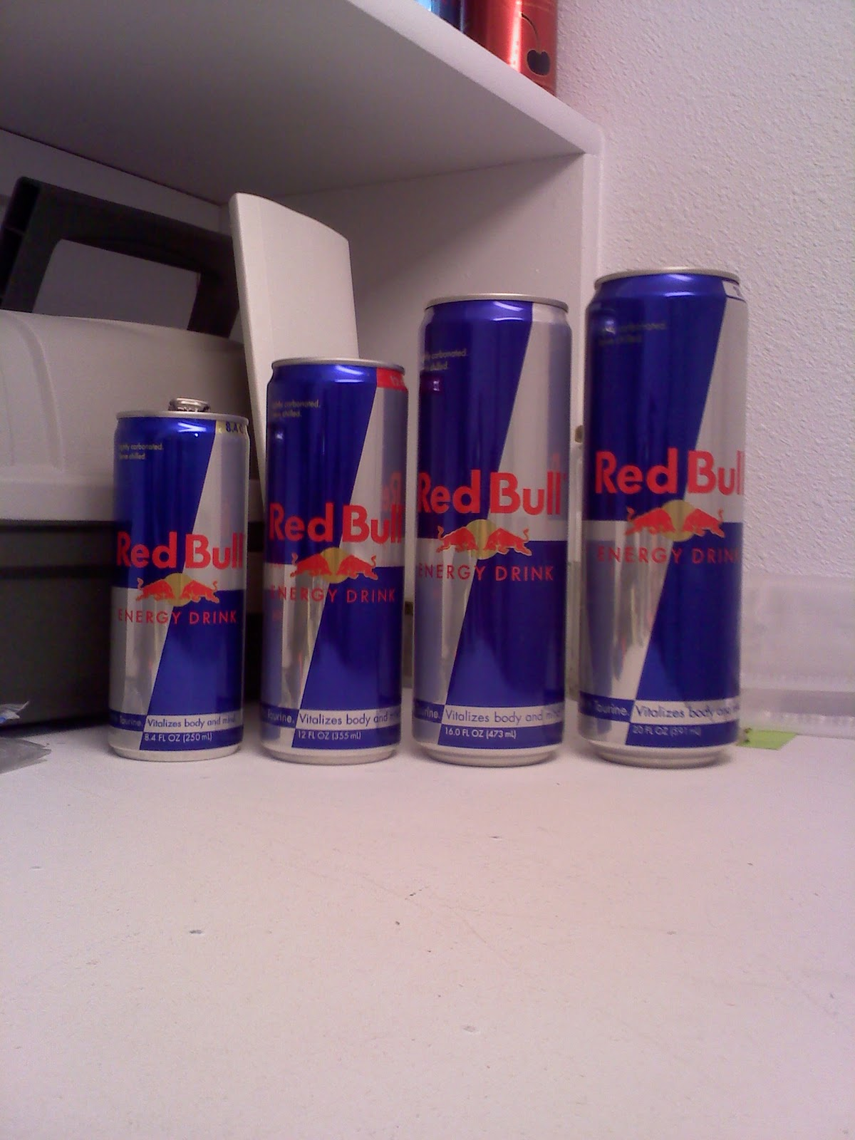 Caffeine Review For Red Bull