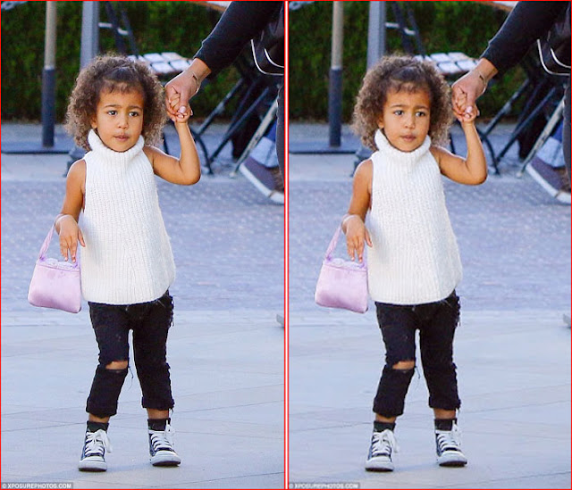 little fashionista - North West