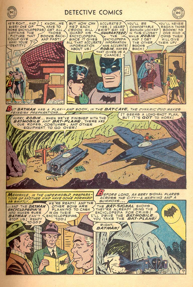 Read online Detective Comics (1937) comic -  Issue #214 - 11