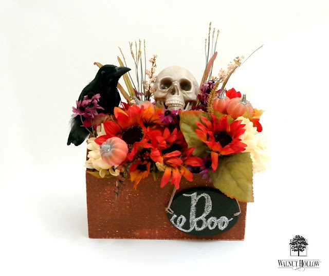 Multi-Month Fall Decor Pumpkin Box by Dana Tatar for Walnut Hollow