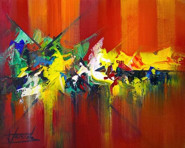 Josep Teixido 1956 Abstract Palette Knife Painter Tutt