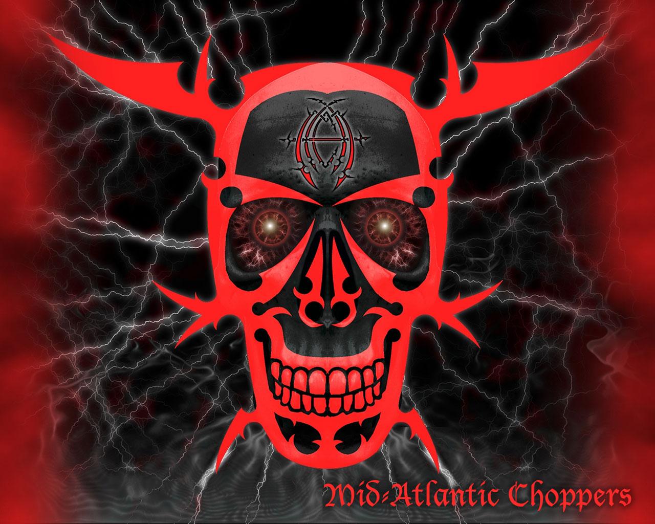 demon skull wallpaper - photo #33