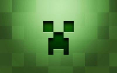 Logo Minecraft Green Day - Fond d'écran en Ultra HD 4K