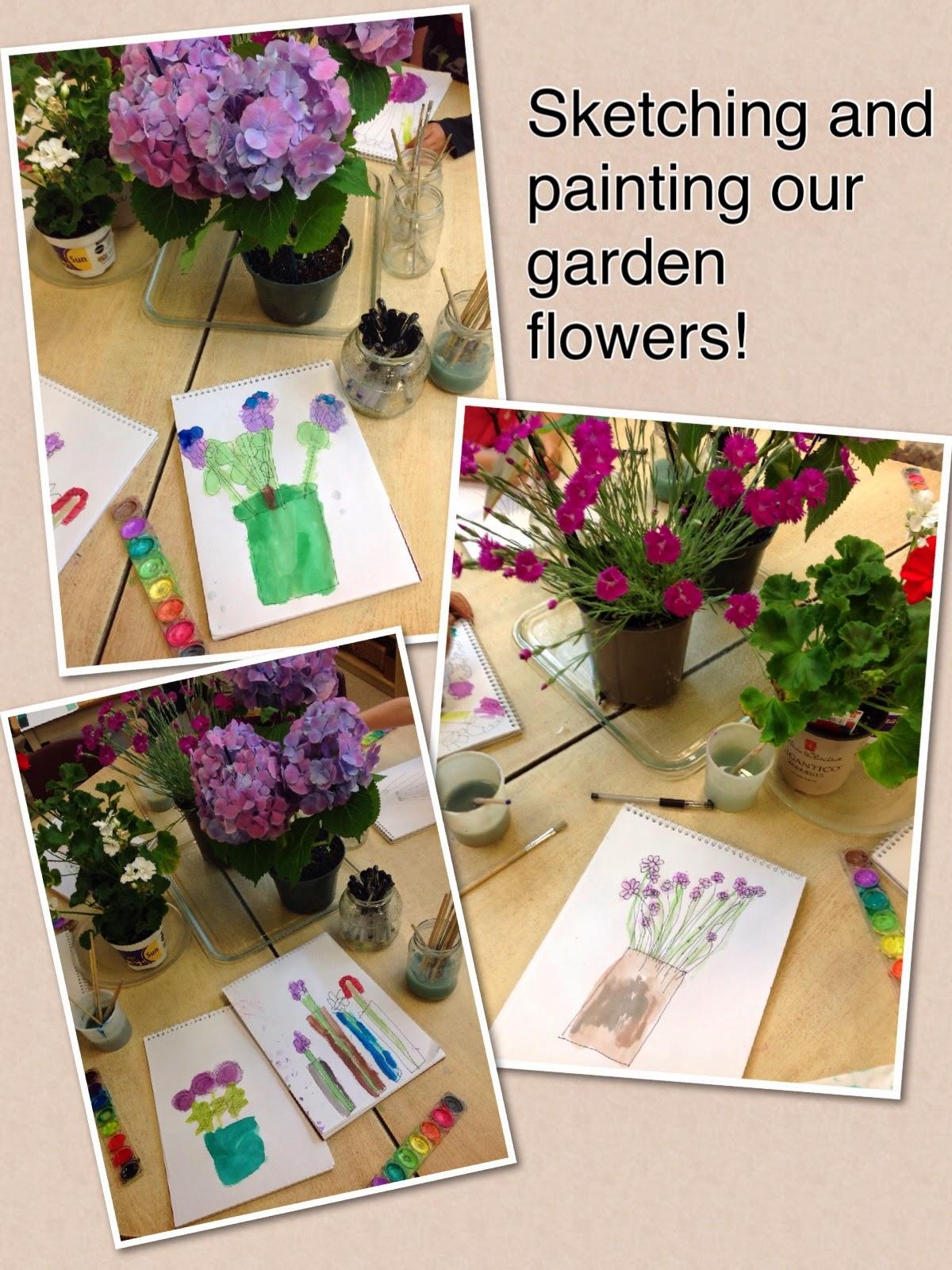 Wonders In Kindergarten Creating Our Beautiful Flower Garden