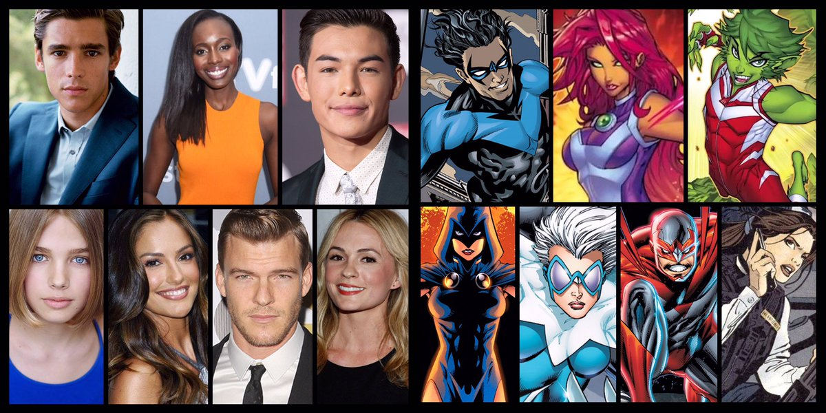 Voices Of Teen Titans