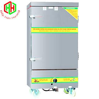 Tủ Nấu Cơm Gas Và Điện 12 Khay –TC12K-GĐ
