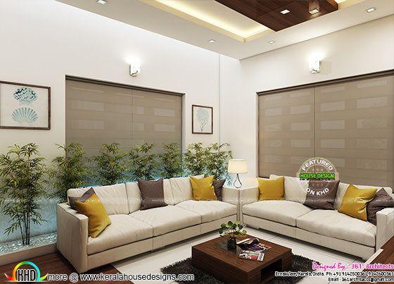 Living room interior Ernakukam