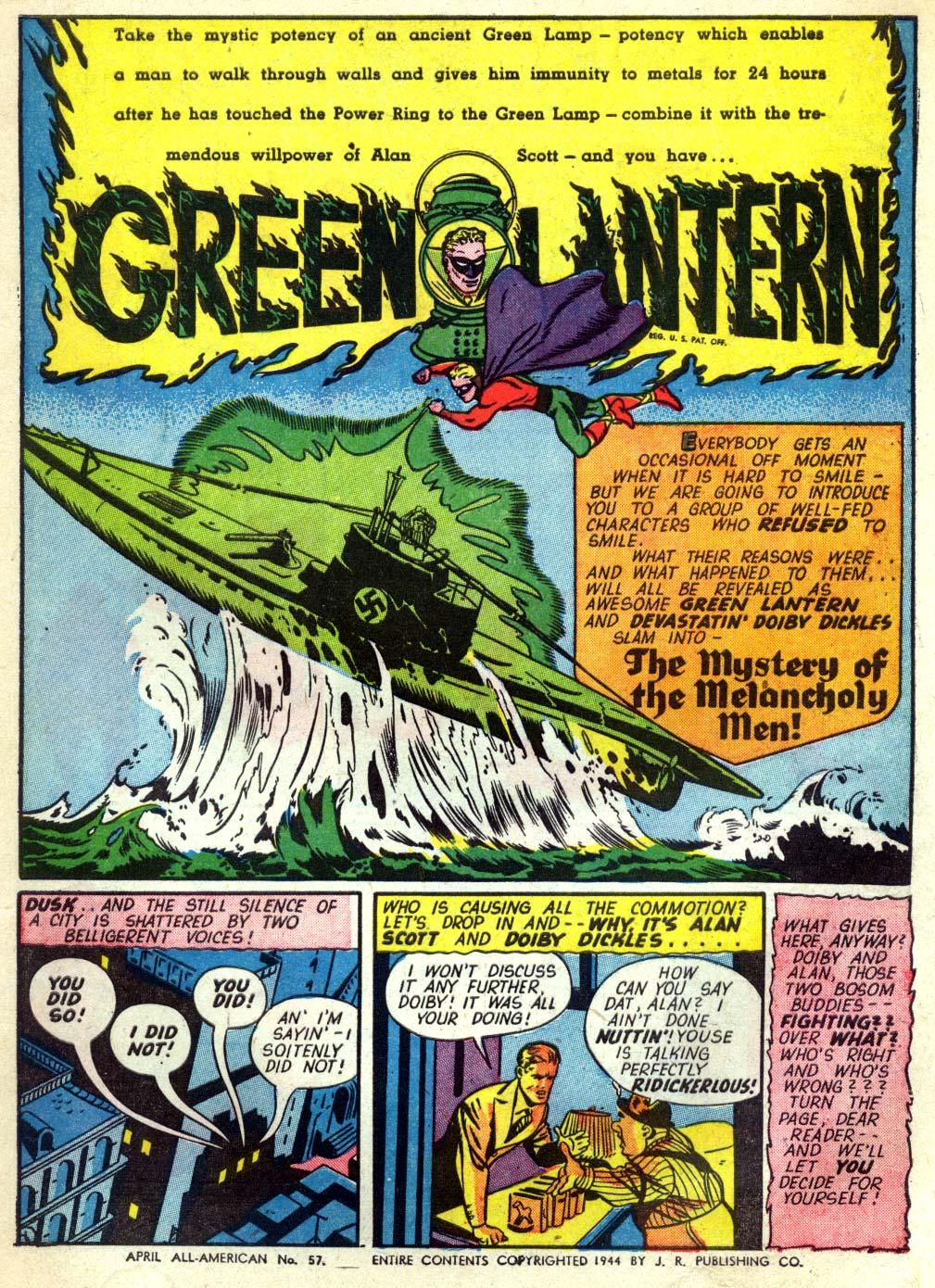 Read online All-American Comics (1939) comic -  Issue #57 - 3