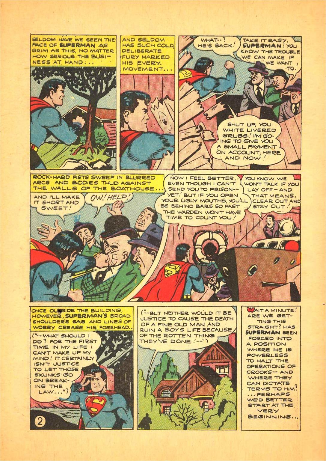 Read online Action Comics (1938) comic -  Issue #66 - 3