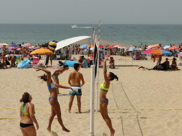 Voley playa femenino en Cádiz