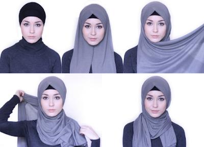 model jilbab masa kini