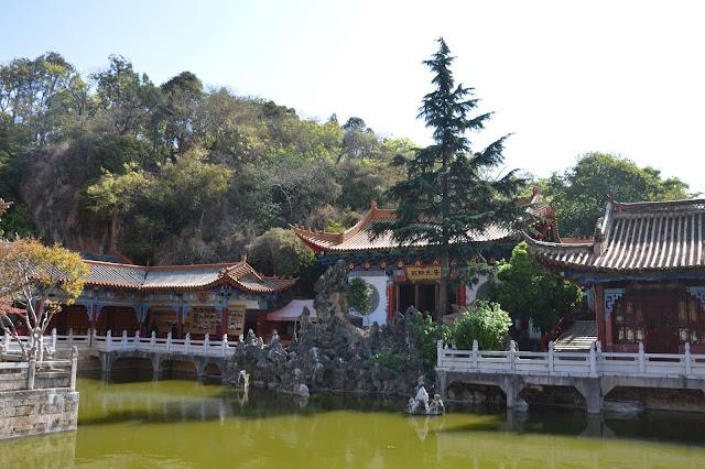 Entrée du temple de Kunming