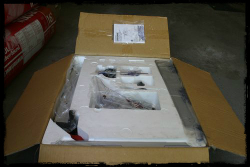 Table Saw Unboxing