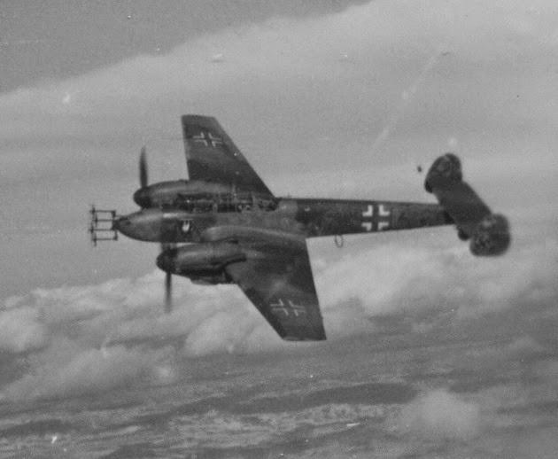 FalkeEins - the Luftwaffe blog: Bf 110 NJG 4 ace Reinhard ...