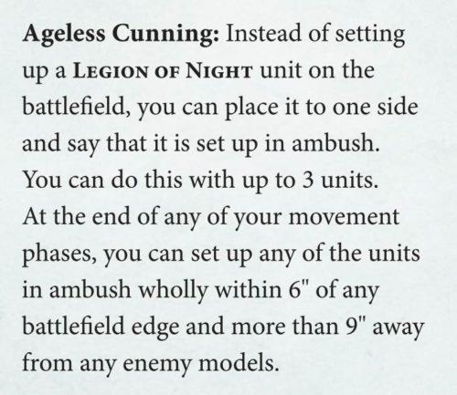 reglas No Muertos Age of Sigmar