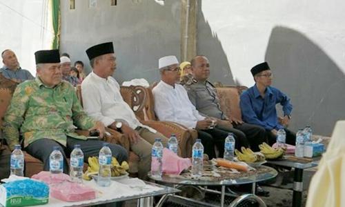 Bangun Mushalla, Warga Parak Aneh Diapresiasi Anggota DPRD Kota Padang