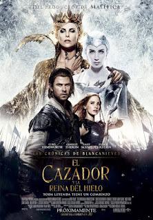 Cartel: Las crónicas de Blancanieves - El cazador y la reina del hielo (2016)