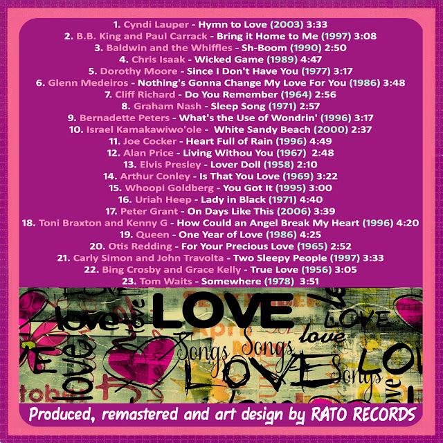 Cd LOVE SONGS FOREVER 10 Back%2B10