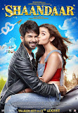 Alia Bhatt kissing Shahid Kapoor in poster of Bollywood movie Shaandaar