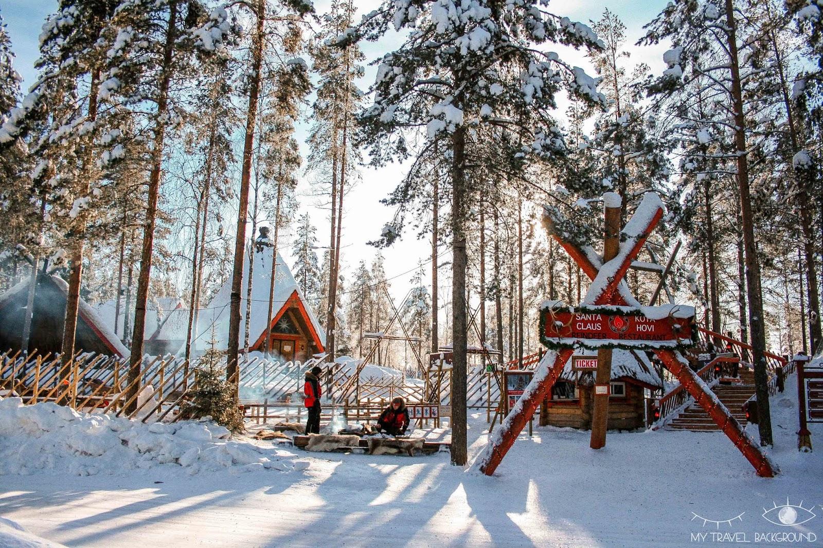 My Travel Background : le jour où j'ai rencontré le Père Noël en Laponie - Les rennes du Père Noël