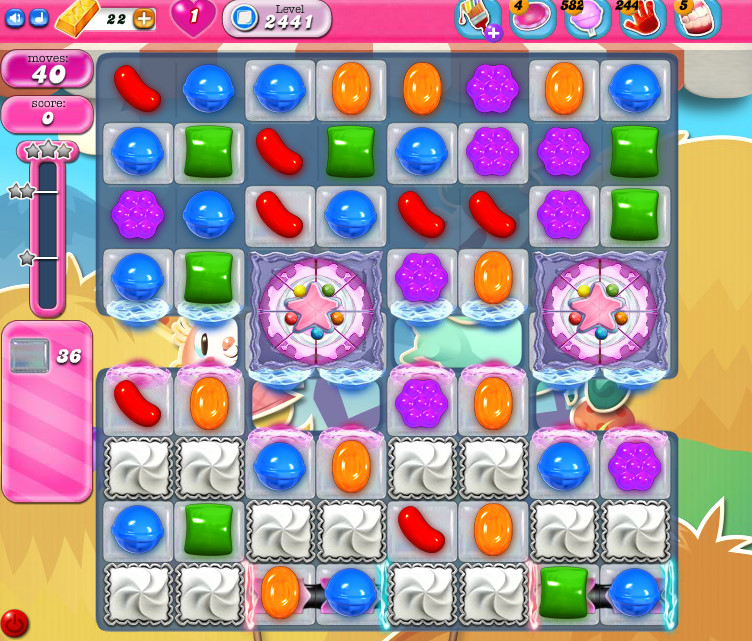 Candy Crush Saga level 2441