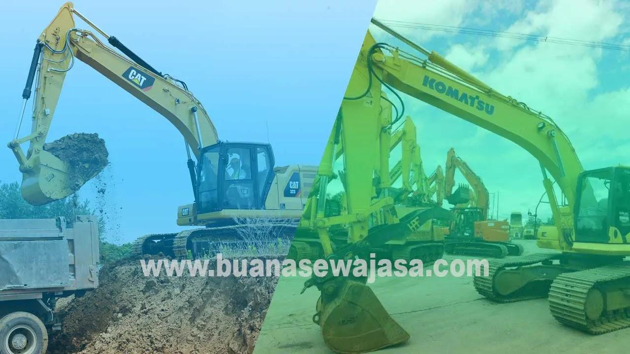 Harga Sewa Alat Berat Excavator