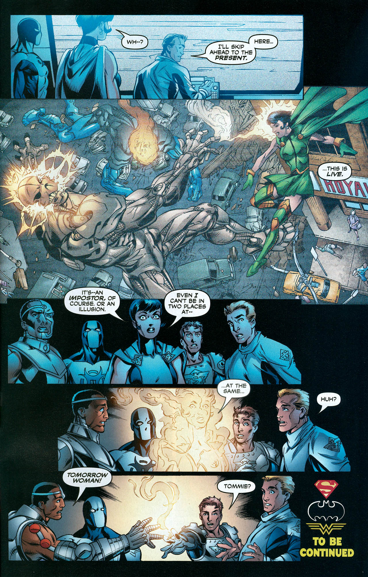 Read online Trinity (2008) comic -  Issue #22 - 31