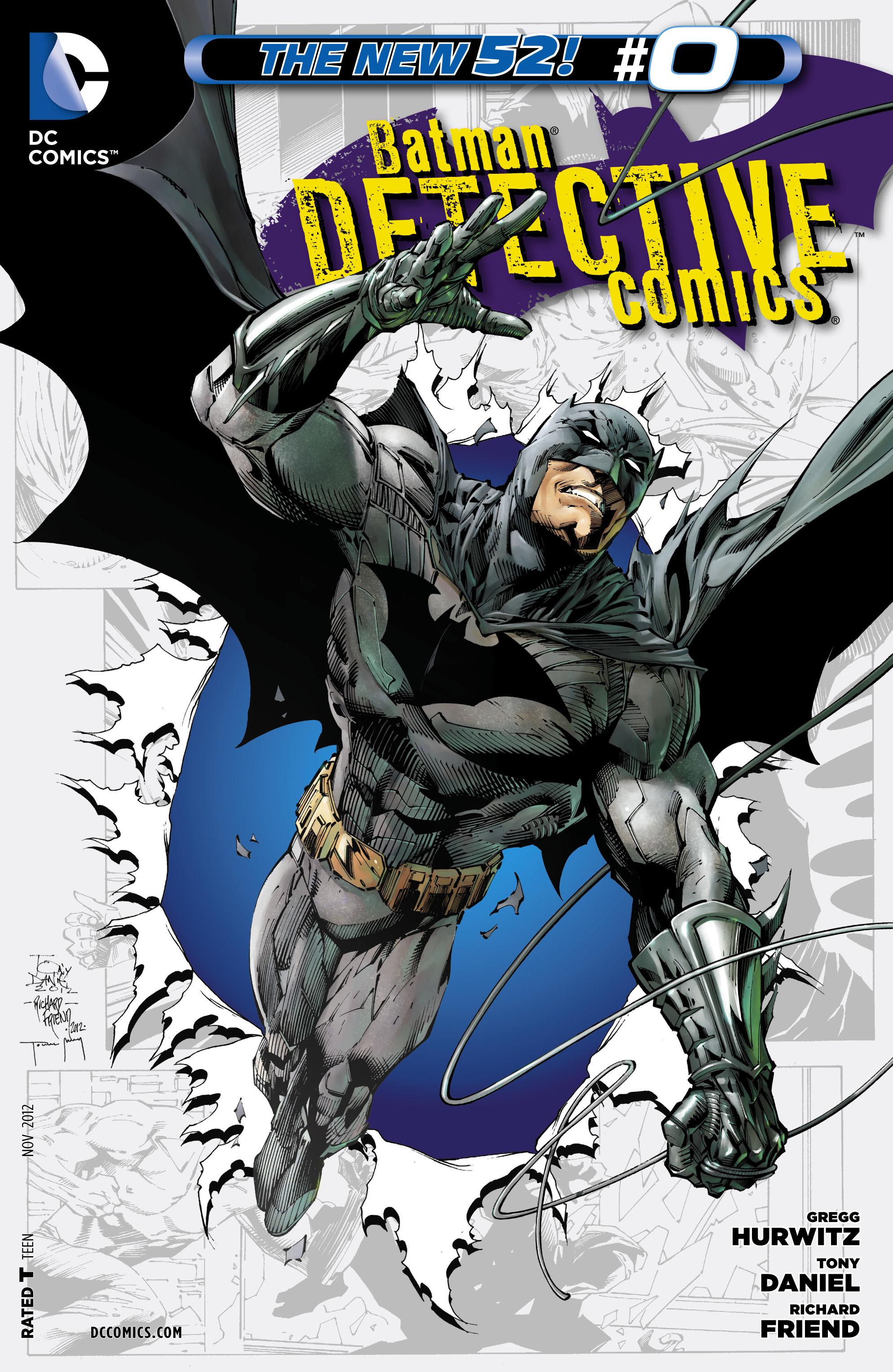 Detective Comics (2011) 0 Page 1