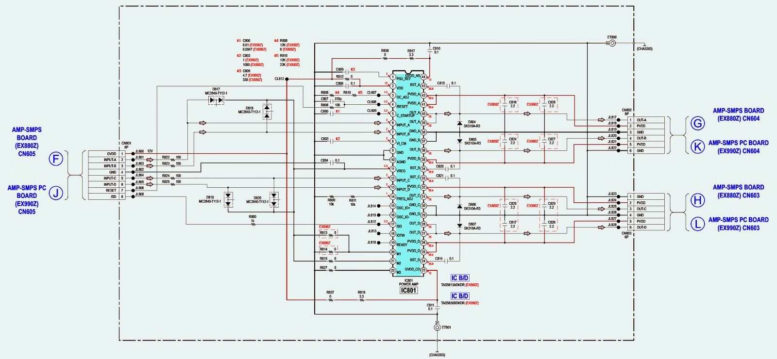 Sony Hcd Ex660z Schematic Wiring Diagram Schematic Smps And Amplifier
