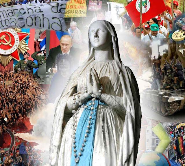 O caos do mundo indica que a hora de Nossa Senhora está perto